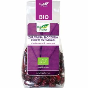 Merisoare indulcite cu zahar de trestie, ECO, 100 g, Bio Planet
