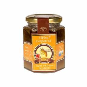 Miere cu pulbere de catina 360 g, Albina Carpatina