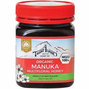 Miere de Manuka MGO 100+, ECO, 250 g, TranzAlpine