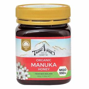 Miere de Manuka MGO 550+, ECO, 250 g, TranzAlpine