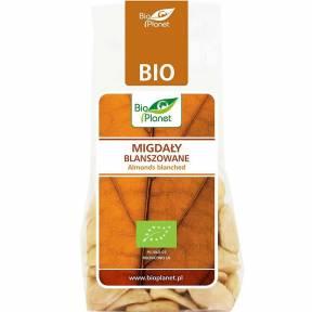 Migdale blansate (decojite), ECO, 100 g, Bio Planet