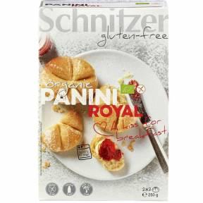 """Mini-chifle """"Panini royal"""" fara gluten ECO 250 g (2 x 2 bucati), Schnitzer"""