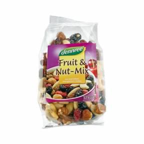 Mix de fructe si nuci ECO 175 g, Dennree