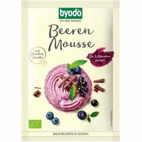 Mousse cu fructe de padure, ECO, 36 g, Byodo
