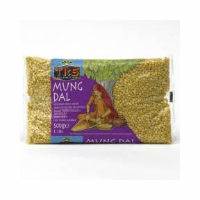 Mung Dal - Fasole Mung  decorticata 500 g, TRS