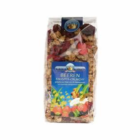 Musli crocant cu fructe de padure ECO 375 g, Bioking