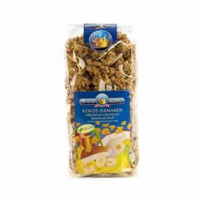 Musli crocant cu fulgi de banane si de cocos ECO 375 g