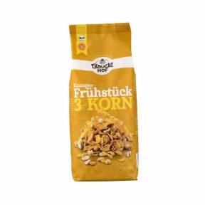 Musli crocant din 3 cereale fara gluten ECO 225 g, Bauck Hof