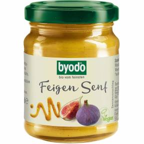 Mustar cu smochine, ECO, 125 ml, Byodo
