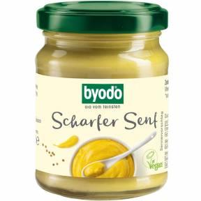 Mustar iute ECO 125 ml, Byodo