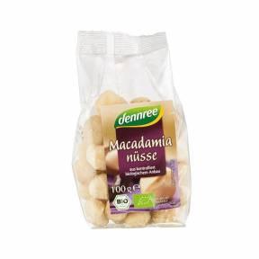 Nuci macadamia ECO 100 g, Dennree