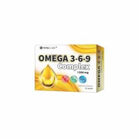 Omega 3-6-9 Complex 1206mg, Cosmo Pharm, 30 capsule
