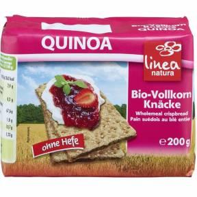 Paine crocanta cu quinoa, fara drojdie, ECO, 200 g, Linea Natura