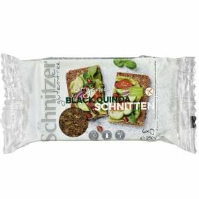 Paine feliata din quinoa neagra, fara gluten, ECO, 250 g, Schnitzer
