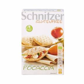 Paine focaccia ECO fara gluten 220 g (2 x 110 g), Schnitzer