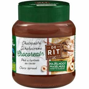 Pasta de cacao cu alune de padure ECO 350g, De Rit