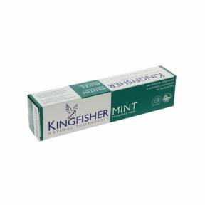 Pasta de dinti fara fluor cu menta 100 ml, Kingfisher