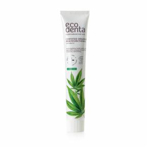 Pasta de dinti organica multifunctionala cu ulei de canepa, Ecodenta, 75 ml