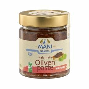 Pasta de masline kalamata ECO 180 g, Mani Blauel