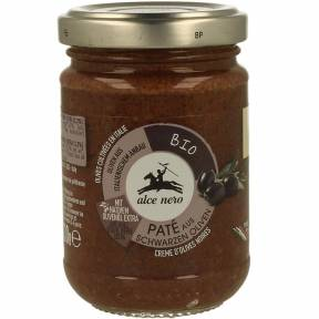 Pasta de masline negre, ECO, 130 g