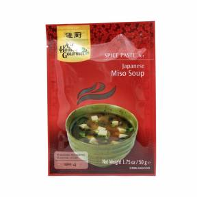 Pasta pentru supa japoneza Miso 50 g, Asian Home Gourmet