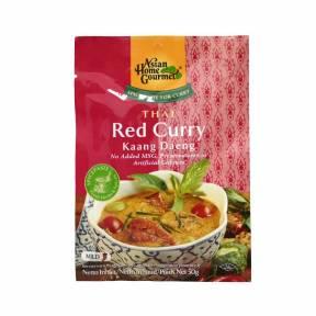 Pasta tailandeza de curry rosu Kaang Daeng 50 g, Asian Home Gourmet