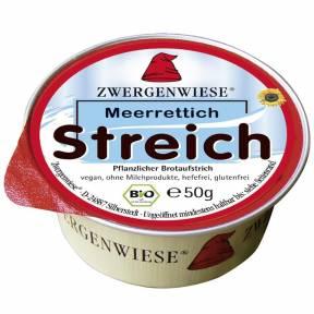 Pasta tartinabila vegana Meerrettich, fara gluten, ECO 50 g, Zwergenwiese