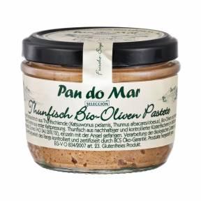 Pateu de ton cu masline 125 g, Pan Do Mar