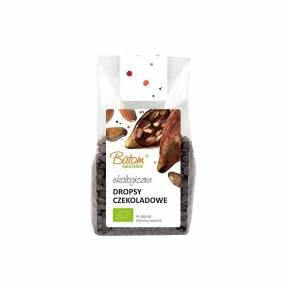 Picaturi de ciocolata neagra, ECO, 125 g, Batom