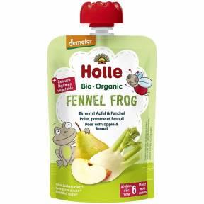 """Piure """"Fennel Frog"""", cu para, mar si fenicul, Demeter, ECO, 100 g, Holle"""