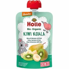 "Piure ""Kiwi Koala"", cu para, banana si kiwi, Demeter, ECO, 100 g, Holle"