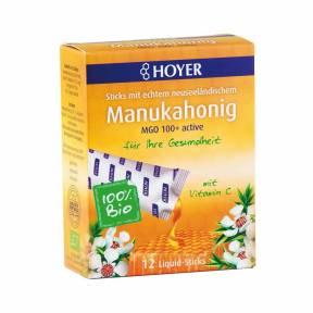Pliculete cu miere de Manuka MGO 150+, ECO 96 g, Hoyer