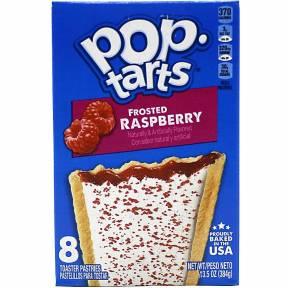 Pop Tarts Frosted Raspberry, 384 g, Kellogg's