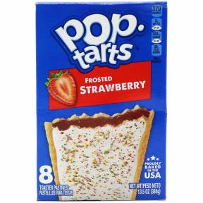 Pop Tarts Frosted Strawberry, 384 g, Kellogg's