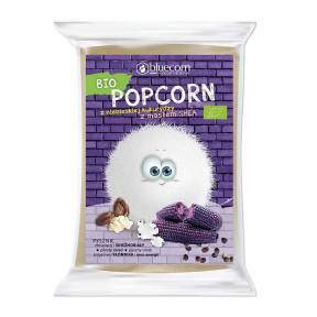 Porumb albastru de popcorn, pentru microunde, ECO, 100 g, Bluecorn