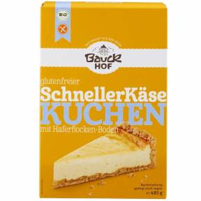 Premix fara gluten pentru cheesecake ECO 485 g, Bauck Hof