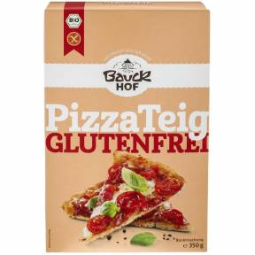 Premix pentru aluat de pizza fara gluten 350 g, Bauck Hof