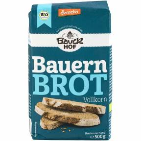 Premix pentru paine integrala taraneasca, ECO, 500 g, Bauck Hof