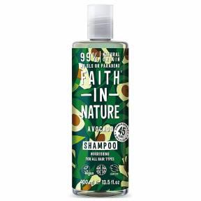 Sampon natural nutritiv cu Avocado, pentru toate tipurile de par, Faith in Nature, 400ml