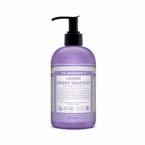 Sapun lichid cu pompa Shikakai LAVANDA – 355 ml, Dr. Bronner's