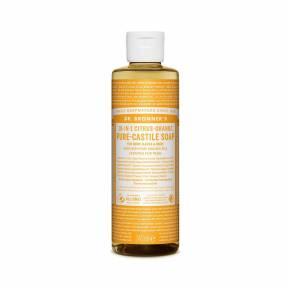 Sapun lichid de Castilia 18-in-1 Citrice, 240 ml, Dr. Bronner's