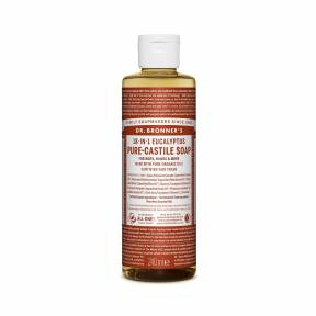 Sapun lichid de Castilia 18-in-1 Eucalipt, 240 ml, Dr. Bronner's