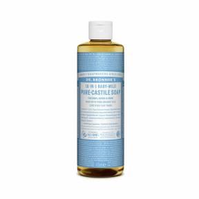 Sapun lichid de Castilia 18-in-1 Inodor, pentru bebelusi si piele sensibila, 475 ml, Dr. Bronner's