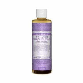 Sapun lichid de Castilia 18-in-1 Lavanda, 240 ml, Dr. Bronner's