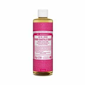 Sapun lichid de Castilia 18-in-1 Trandafiri, 475 ml, Dr. Bronner's