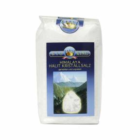 Sare gema Himalaya macinata 500 g, Bioking