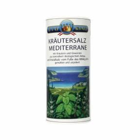 Sare Himalaya cu plante aromatice mediteraneene ECO 200 g, Bioking