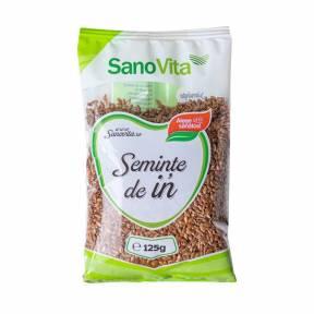 Seminte de in 125 g, Sano Vita
