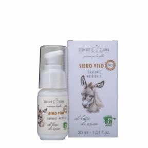 Serum facial hidratant si regenerant cu lapte de magarita, BIO, La Dispensa, 30 ml