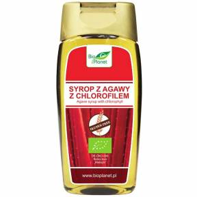 Sirop de agave cu clorofila, ECO, 350 g (250 ml), Bio Planet